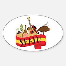 Spain 1 Decal