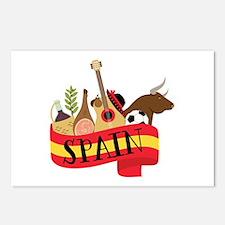 Spain 1 Postcards (Package of 8)