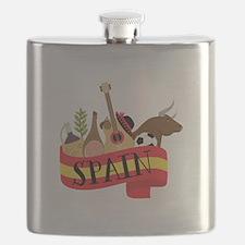 Spain 1 Flask