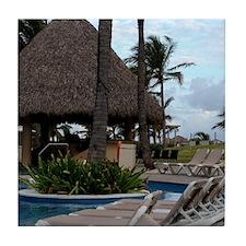 Punta Cana, Dominican Republic Tile Coaster