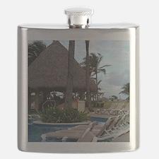 Punta Cana, Dominican Republic Flask