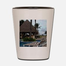Punta Cana, Dominican Republic Shot Glass