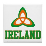 Irish Trinity Tile Coaster