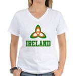 Irish Trinity Women's V-Neck T-Shirt
