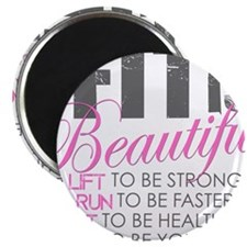 """Cute Fitness 2.25"""" Magnet (10 pack)"""