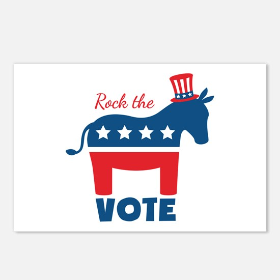 Rock The Vote Postcards (Package of 8)