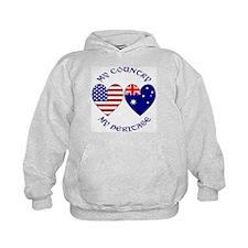 USA / Australian Heritage Hoodie