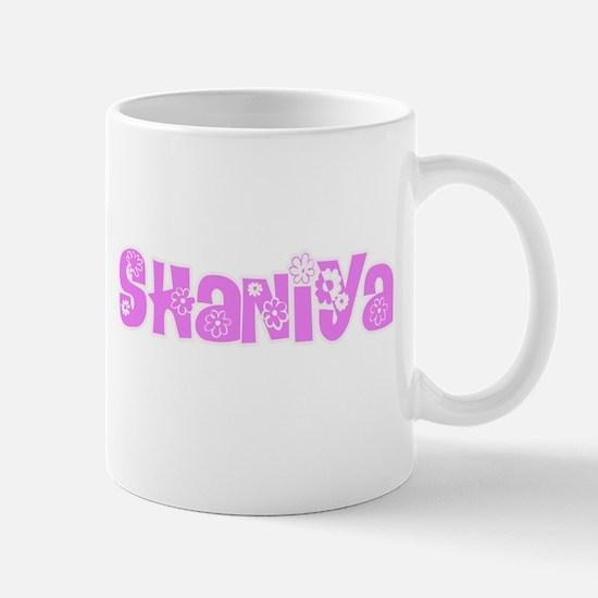 Shaniya Flower Design Mugs