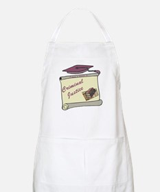 Criminal Justice Degree BBQ Apron