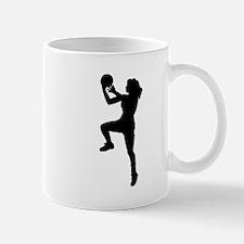 Womens Basketball Player Mugs
