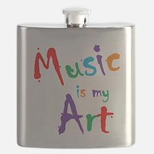 Music is my Art Flask