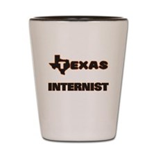 Texas Internist Shot Glass