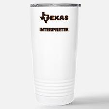 Texas Interpreter Travel Mug