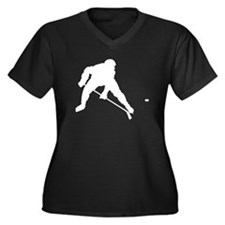 Hockey Player Plus Size T-Shirt