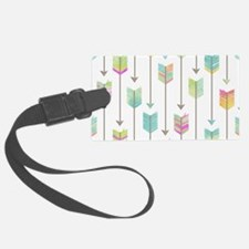 Watercolor Arrows Pattern Luggage Tag