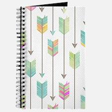 Watercolor Arrows Pattern Journal