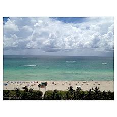 South Beach, Miami Beach, Florida Poster