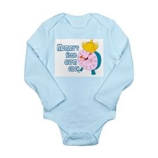 BABY BOY - MOMMY'S LITTLE ALARM CLOCK Body Suit