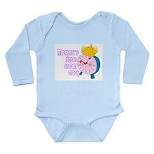 BABY GIRL - MOMMY'S LITTLE ALARM CLOCK Body Suit