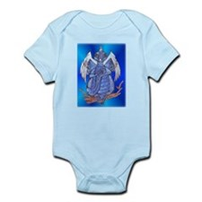 Blue Ice Dragon Body Suit