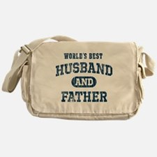 World's Best Husband and Father Messenger Bag
