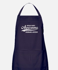Awesome Husband and Father Apron (dark)
