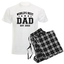 Personalized World's Best Dad Pajamas