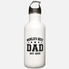 Personalized World's B Water Bottle