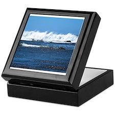 Costarica waves Keepsake Box