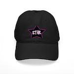 Girlie.Star Black Cap