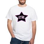 Girlie.Star White T-Shirt