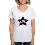 Girlie.Star Women's V-Neck T-Shirt