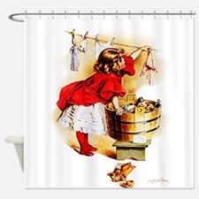 Maud Humphrey - Laundry Day Shower Curtain