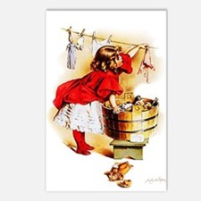 Maud Humphrey - Laundry D Postcards (Package of 8)