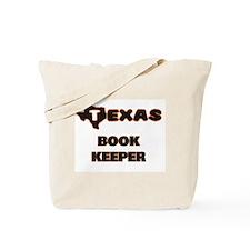 Texas Book Keeper Tote Bag