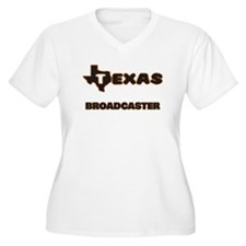 Texas Broadcaster Plus Size T-Shirt
