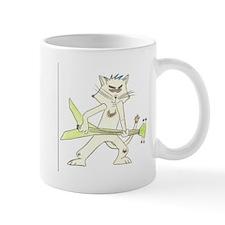 A rockin cat Mug