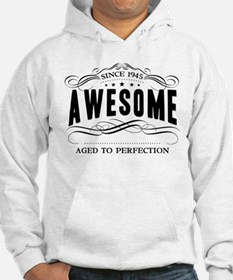Birthday Born 1945 Awesome Hoodie