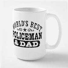 World's Best Policeman and Dad Mug