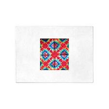 Tie Dye Design 5'x7'Area Rug