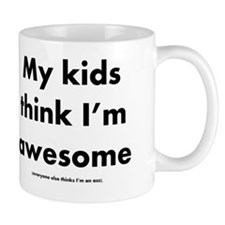 Awesome Dad fine print Mug