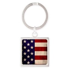 Stars and Stripes Artistic Keychains