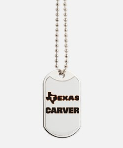 Texas Carver Dog Tags