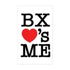 BRONX LOVE'S ME Decal