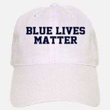 Blue Lives Matter Shadow Baseball Baseball Cap