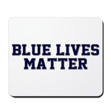 Blue Lives Matter Shadow Mousepad
