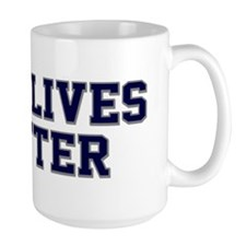 Blue Lives Matter Shadow Mug