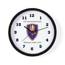 1st Aviation Brigade Wall Clock