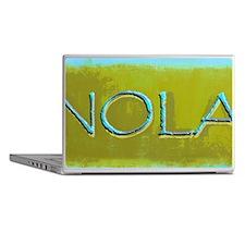 NOLA OLIVE TURQ Laptop Skins