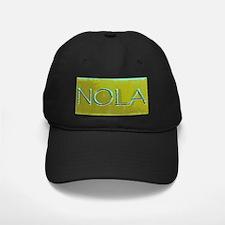 NOLA OLIVE TURQ Baseball Hat